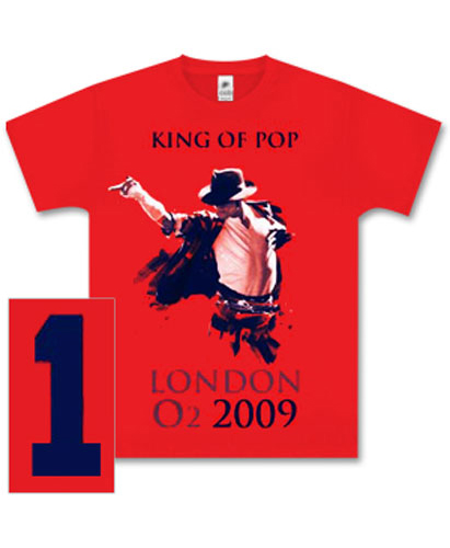 Michael Jackson Clothing Line - Tshirt Audigier