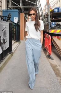 Victoria Beckham in Chloe Resort 2014