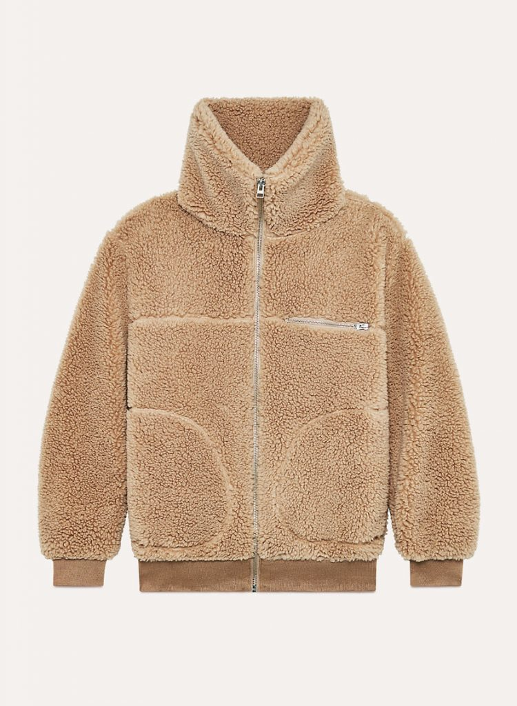 Wilfred Free The Teddy Jacket Zip-up Sherpa Jacket. Teddy bear coats, Teddy coats
