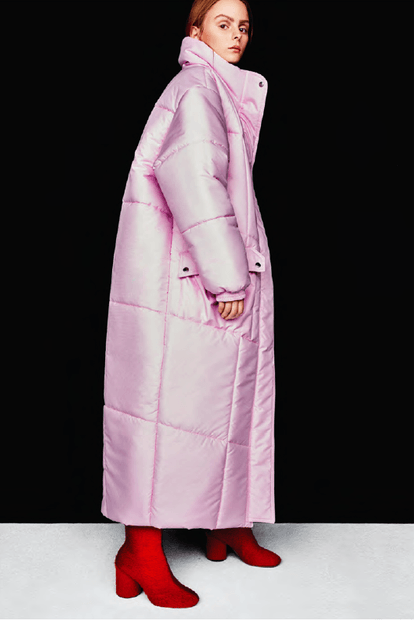Christina Ledang Bubble Long Puffer Coat. Puffer Coats & Jackets