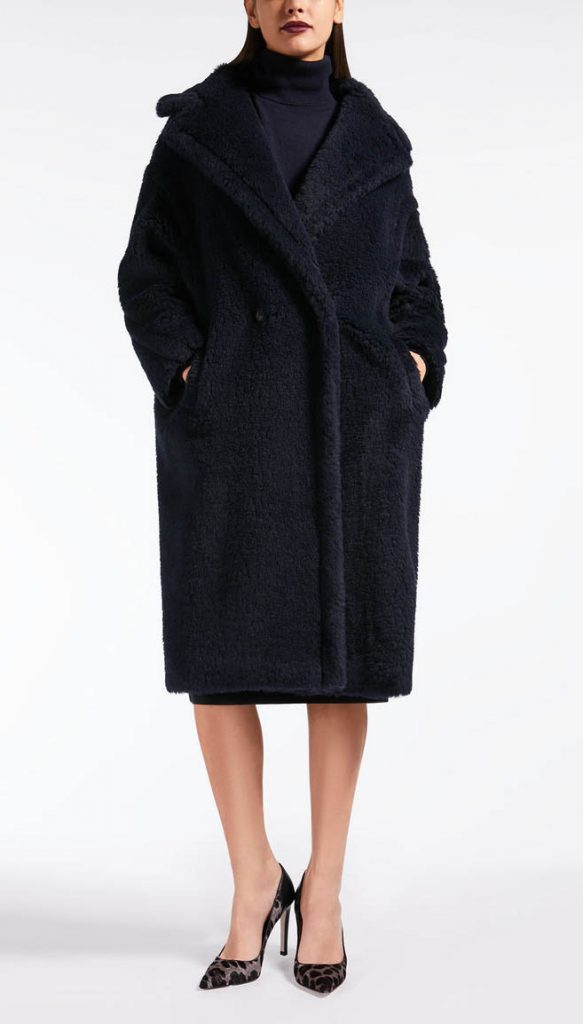 Max Mara navy Teddy Bear Icon Coat. Teddy coat, Teddy bear coat.