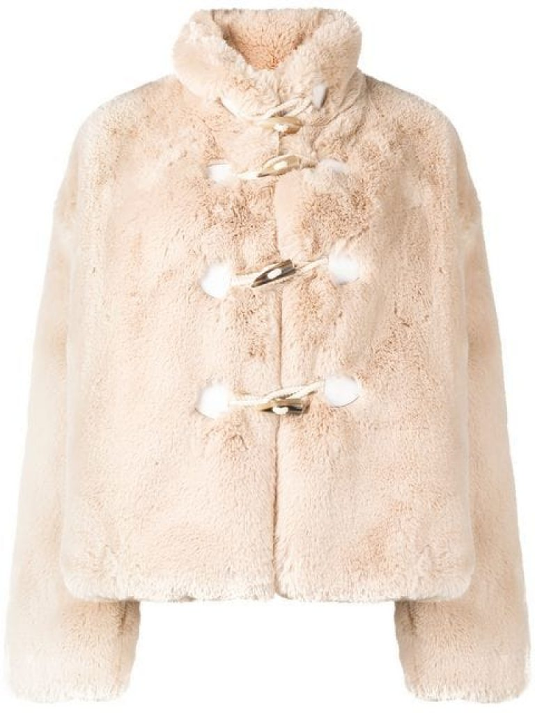 Golden Goose Deluxe Brand Shedir teddy jacket, teddy coat, teddy bear coat