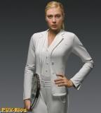 Maria Sharapova's Tuxedo Style at Wimbledon. Get the Look!