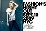 Vogue and CFDA Present: Fashion's Night Out Sept. 10 2009