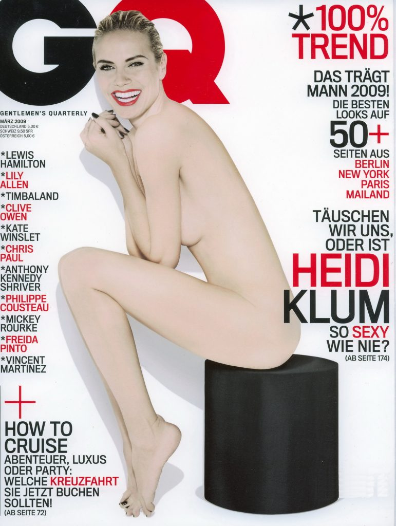 Heidi Klum GQ Germany, March 2009