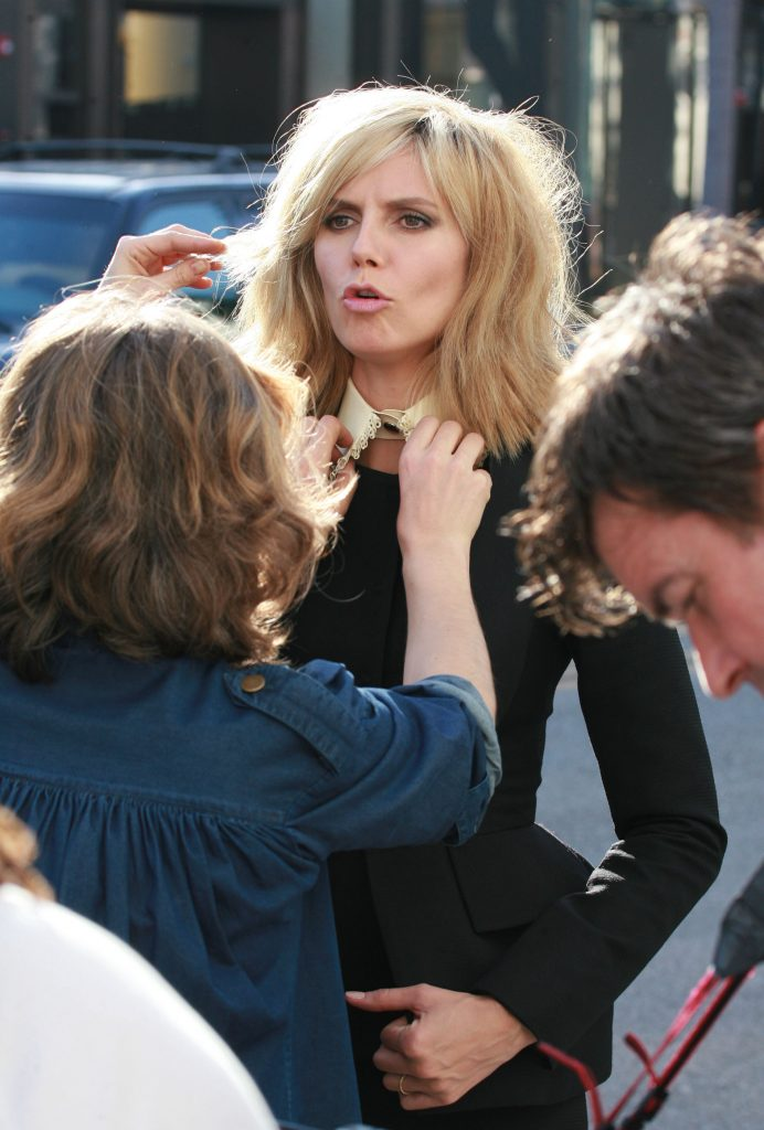 Heidi Klum Photo Shoot Los Angeles April 1 2009