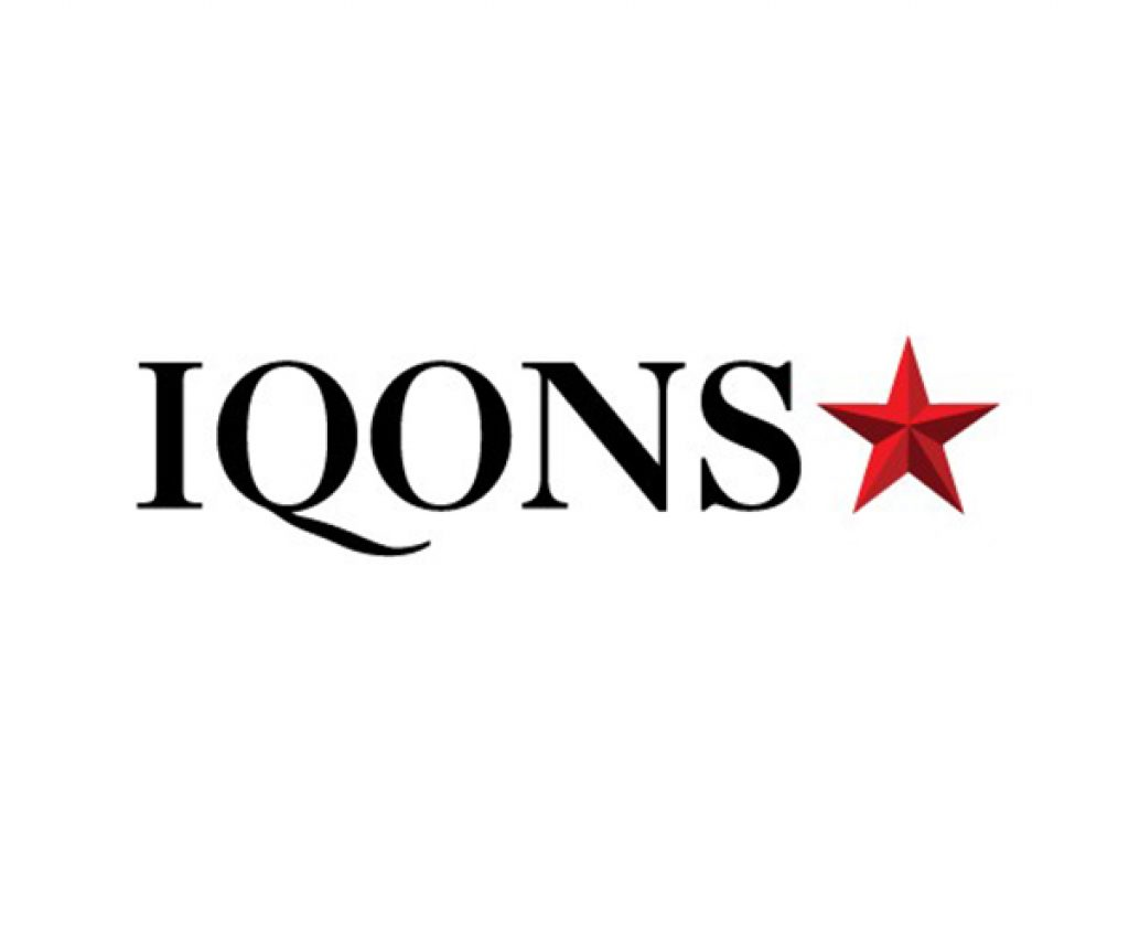 iqons fashion social network logo