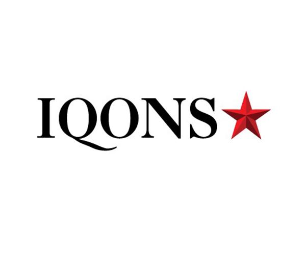 iqons fashion social network logo