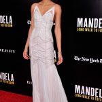 Chanel Iman in J. Mendel Resort 2014