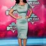 Katy Perry in Zac Posen Resort 2014