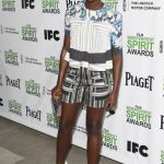 Lupita Nyong'o in Peter Pilotto Resort 2014