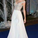 Taylor Swift in Reem Acra Resort 2014