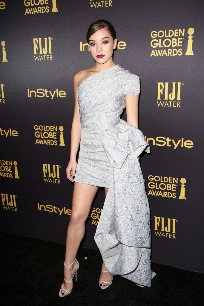 Hailee Steinfeld, HFPA & InStyle's Celebration of Golden Globe Awards, Los Angeles