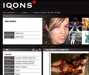 iqons fashion social network