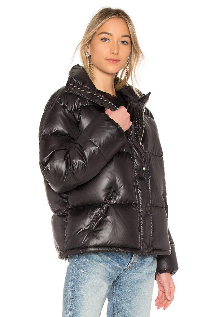 LPA Jacket 601, black puffer jacket