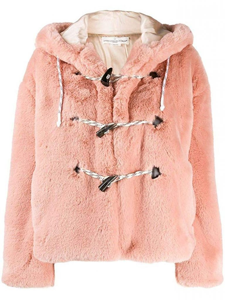 celebrity winter coats, vanessa hudgens, teddy jacket, teddy coat