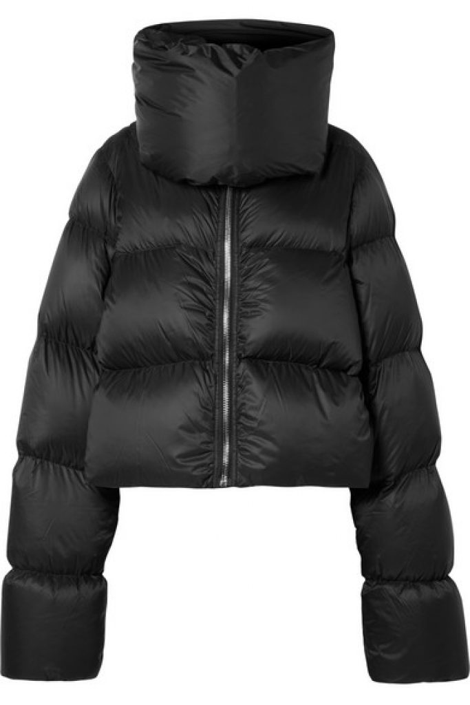 Rick Owens Quilted Shell Down Jacket, Puffer Coat