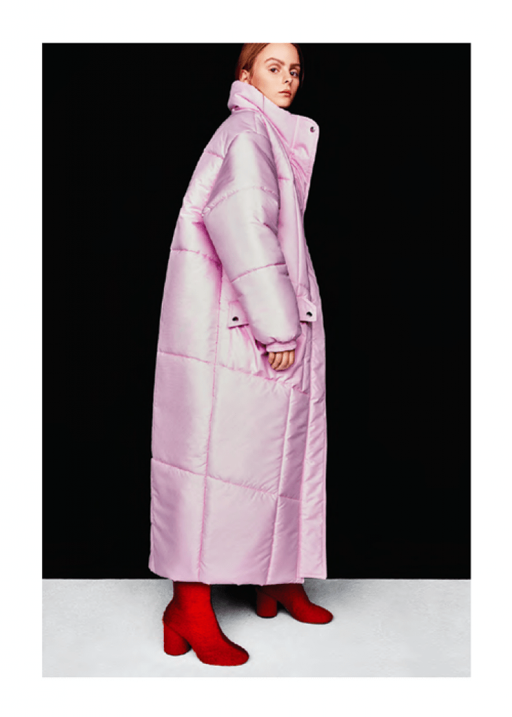 Christina Ledang Bubble Long Puffer Coat. Puffer Coats & Jackets