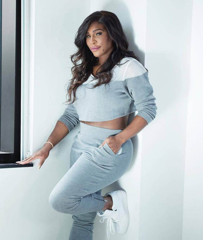 Serena Williams Cloting line, Celebrity clothing brans