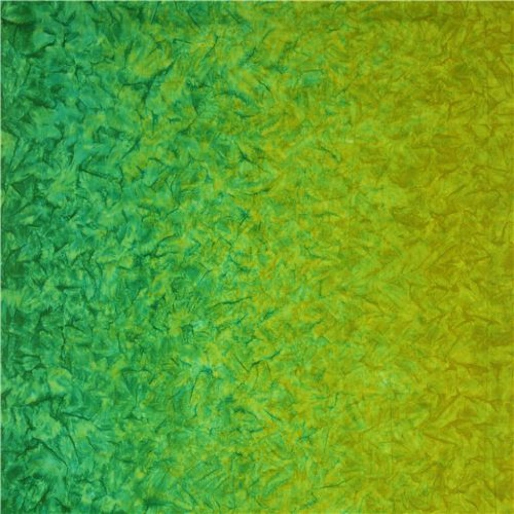 dégradé ombre´, degrade ombre, Ombre´ Lime Green Batik Fabric