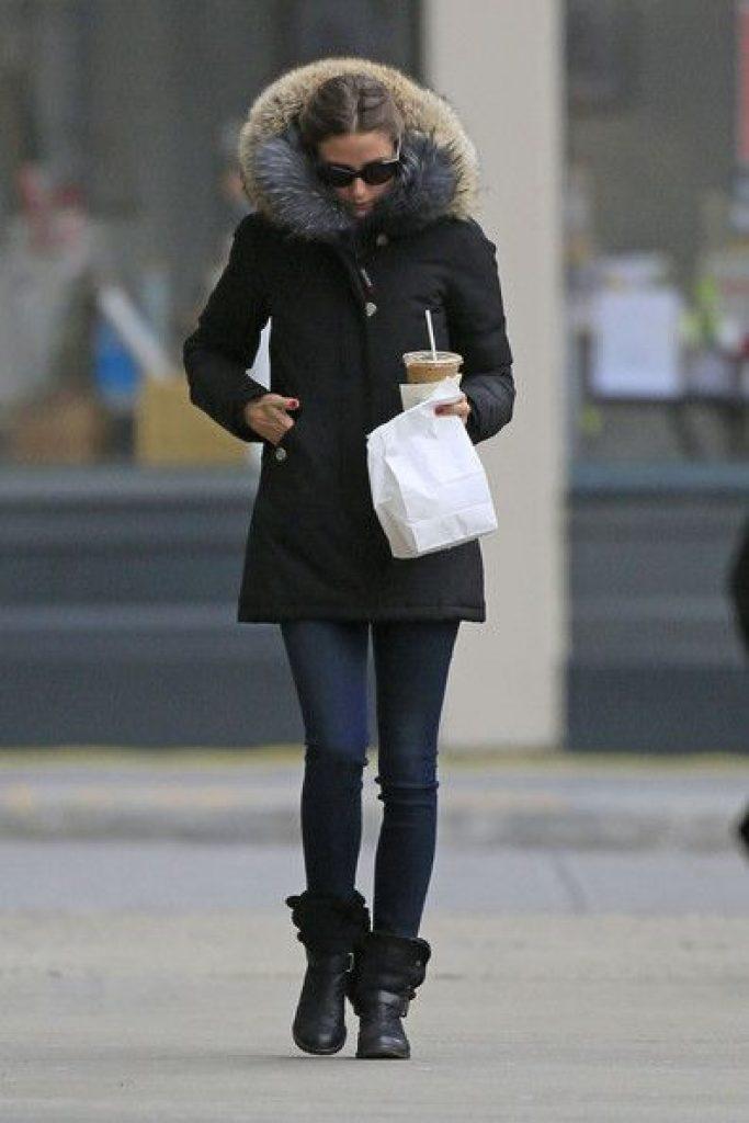 lauren ralph lauren faux fur trim puffer coat, style inspiration,Olivia Palermo, puffer coats, puffer jackets, down jackets, down coats, winter coats, winter outfits, winter style, celebrity fashion