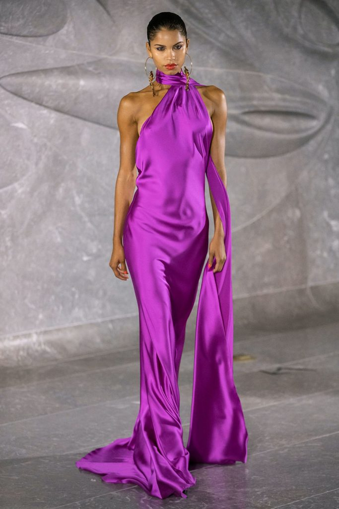 nyfw trends, jewel colors trend 2020, trends from fashion week 2019