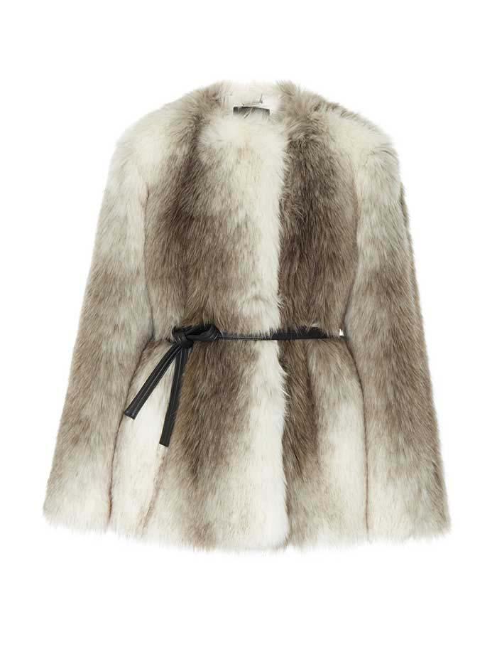 Givenchy Faux Fur Coat, Faux-Fur
