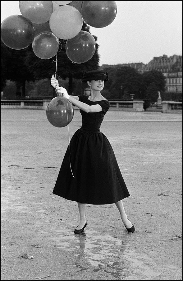 get the look, audrey hepburn, funny face, black dress, lbd