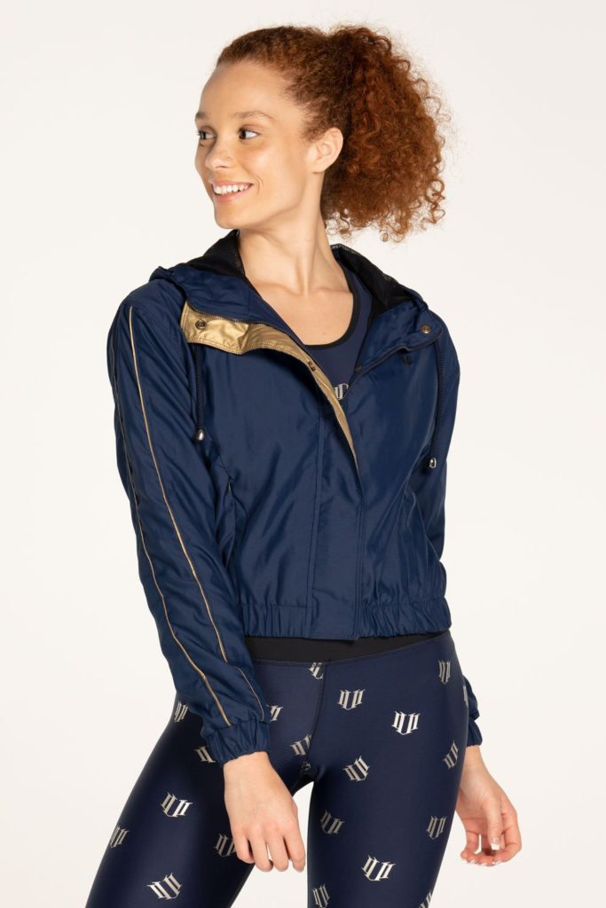 celebrity clothing lines, venus williams, eleven clothing line, glam collection, windbreaker