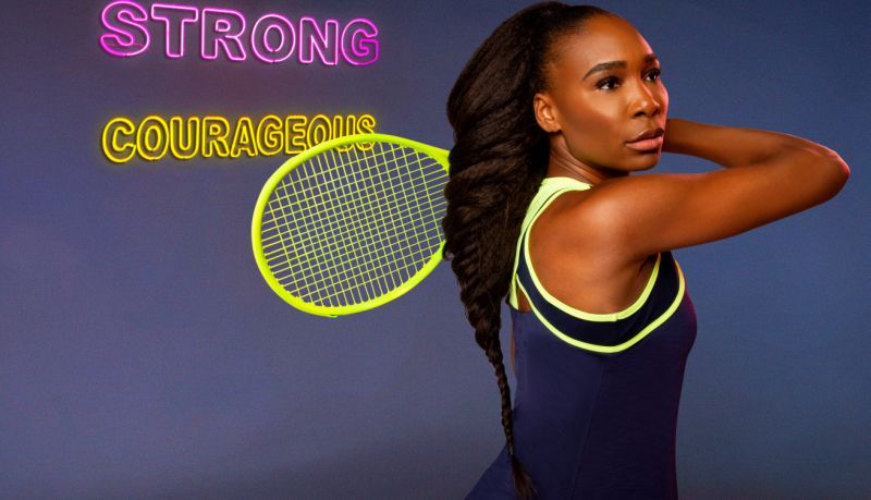 celebrity clothing lines, venus williams, eleven, neon dream collection