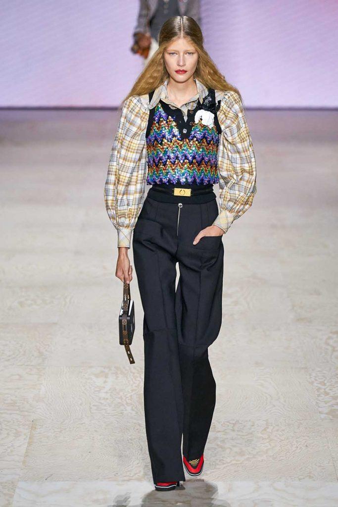 Paris Fashion Week, Louis Vuitton, Puffy Sleeves Trend