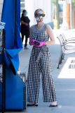 7 Cute Gingham Overalls and Jumpsuits – Emma Roberts Outfit Inspo