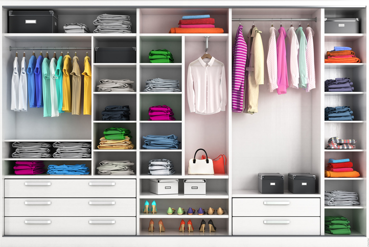 closet organization, closet design