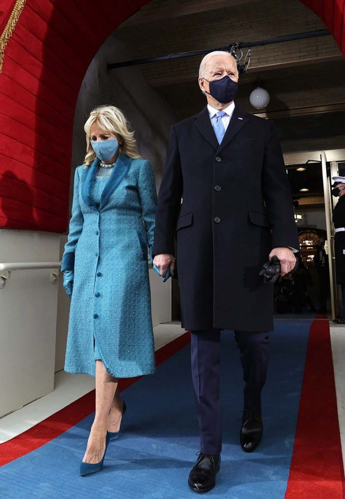 First Lady Fashion, Jill Biden, Inauguration 2021