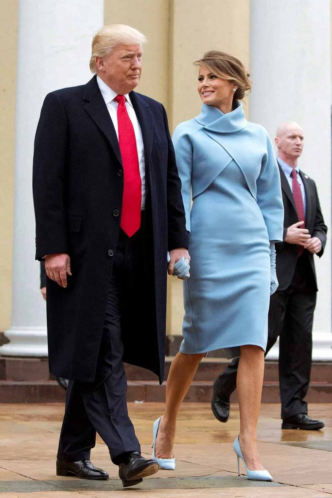 First Lady Fashion, Melania Trump, Inauguration 2017
