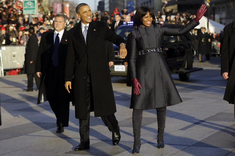 First Lady Fashion, Michelle Obama, Inauguration 2013