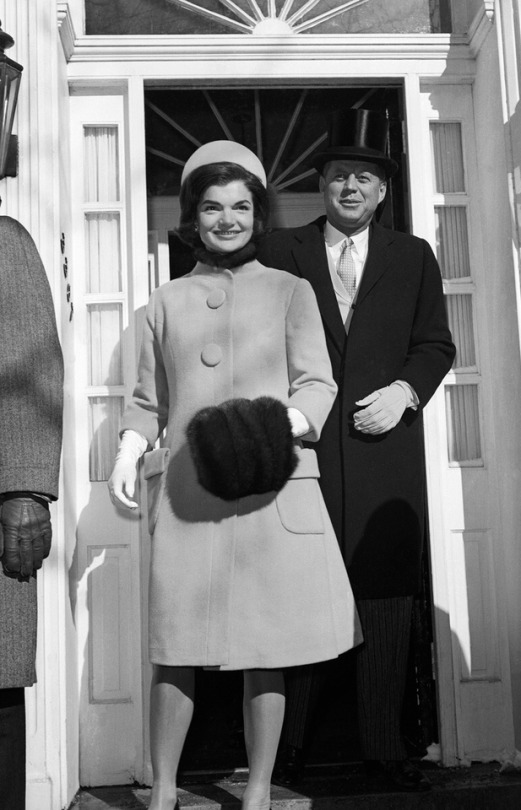 First Lady Fashion, Jackie Kennedy, Inauguration 1961