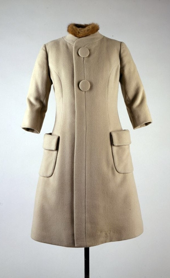 Jackie Kennedy's 1961 inauguration coat by Oleg Cassini