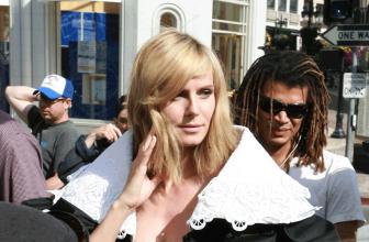 Heidi Klum Poses for German Vogue