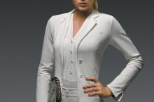Maria Sharapova's Tuxedo Style at Wimbledon. Get the Look!