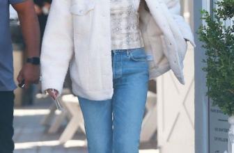 Celebrity Winter Jackets: Sherpa Jackets
