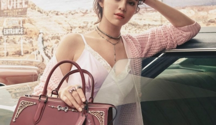 Selena Gomez – Coach Fashion Collection