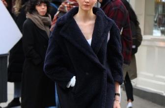 Celebrity Winter Coats: Teddy Coats & Jackets